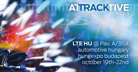 LTE HU   Raising the flag @ Automotive Hungary
