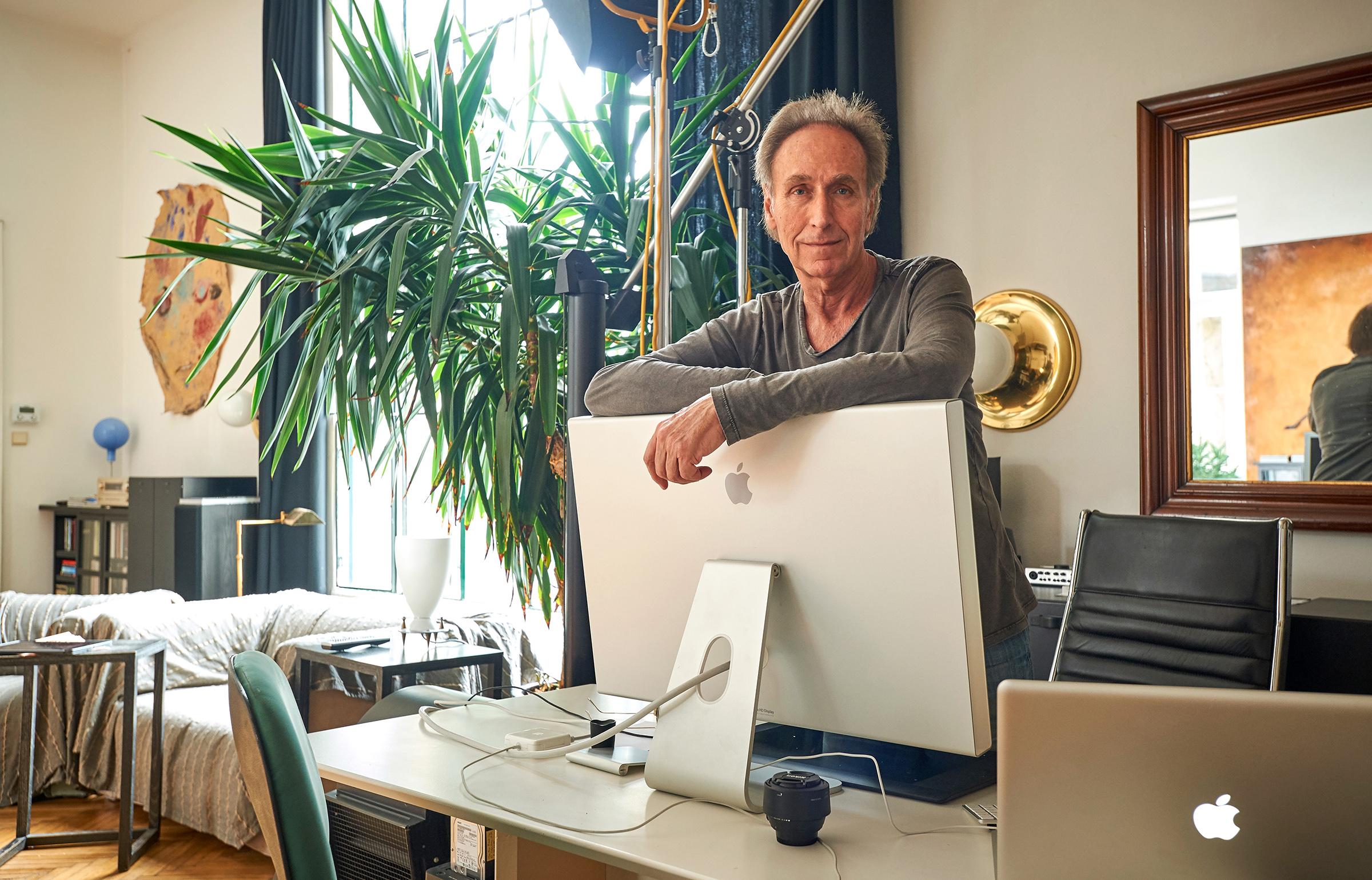 Peter Strobl @ his studio