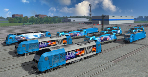 LTE's very real virtual train driver