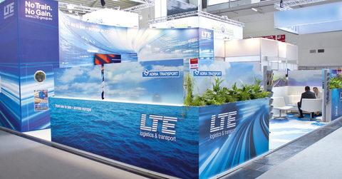 LTE-group auf der 'transport logistic' Messe 2015.