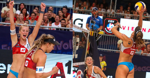 Klinger & Klinger - impressive debutants at the European championships