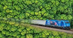 Mit der Eisenbahn wäre Green Logistics bereits auf Schiene.
